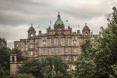 Government building next to Edinburgh Castle, Edinburgh Royalty Free Stock Photography