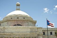 Government Building at San Juan. Headquarters of the Senate building at San Juan, Puerto Rico Royalty Free Stock Photo
