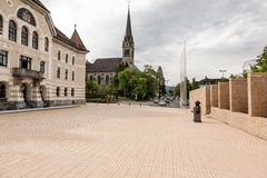 Government Building and St. Florian Cathedral Stock Photo