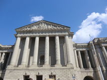Government building in Washington DC. A courthouse or government building in Washington DC with copy space on top Stock Image