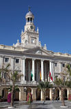 Government in Cadiz, Spain Royalty Free Stock Photography
