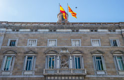 Government of Catalonia building in Barcelona Stock Photography