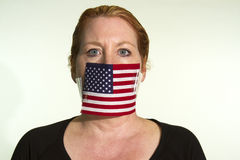 Government Censorship royalty free stock photography