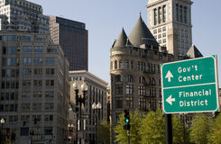 Government Center in Boston Stock Photography
