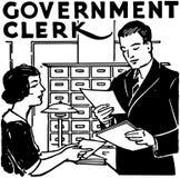 Government Clerk Stock Photo