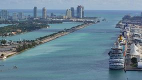Government Cut Miami 4k stock footage
