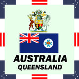 Government elements of Australia - Queensland. Official government elements of Australia - Queensland Stock Images