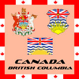Government elements of Canada - British Columbia. Official government elements of Canada - British Columbia Royalty Free Stock Photography
