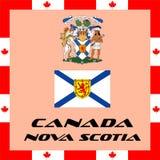 Government elements of Canada - Nova Scotia. Official government elements of Canada - Nova Scotia Stock Images