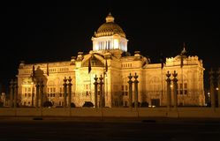 Government Hall. Anantasamkhom Throne Hall used by Thai government royalty free stock image