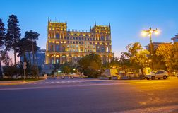 The Government House of Baku Stock Images