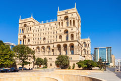 Government House of Baku. The Government House of Baku is a government building housing various state ministries of Azerbaijan. Located on Neftchiler Avenue and stock images
