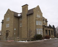 Government House Edmonton Alberta Stock Photo