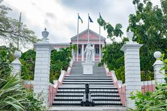 Free Government House In Nassau, Bahamas Royalty Free Stock Images - 136707649