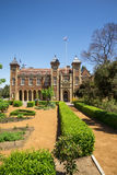Government House and landscaped garden in Perth City center Royalty Free Stock Image