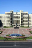 The Government House in Minsk Royalty Free Stock Photography