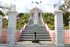 Government House in Nassau Royalty Free Stock Images
