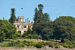The Government House in Sydney Australia Royalty Free Stock Photography