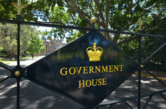 The Government House in Sydney Australia Royalty Free Stock Photos