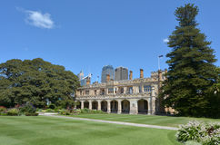 The Government House in Sydney Australia stock images