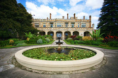 Government House Sydney. Government House is located in Sydney, Australia alongside the Royal Botanic Gardens, overlooking Sydney Harbour, just south of the Stock Photography