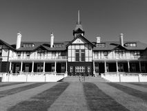 Government House, Wellington, New Zealand. On the lawns of Government House in Wellington New Zealand. The Governor General of lives here stock photo