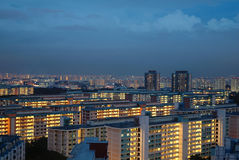 Government Housing in Singapore Stock Image