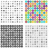 100 government icons set vector variant. 100 government icons set vector in 4 variant for any web design isolated on white Stock Images