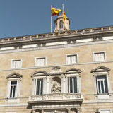 Government office address of Catalonia Royalty Free Stock Images