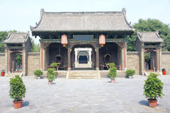 Government office of feudal China Stock Image