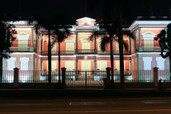 Government office in Macao at Night Royalty Free Stock Photography
