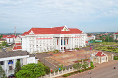 Government office. Vientiane. Laos. Stock Photo