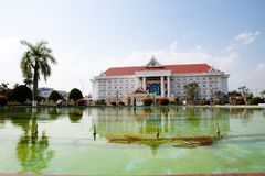 Government Office - Vientiane - Laos. Government Office in Vientiane - Laos royalty free stock images
