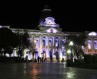Government Palace of Bolivia Stock Photography