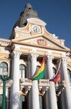 Government Palace of Bolivia, La Paz Royalty Free Stock Photos