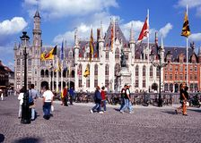 Government Palace, Bruges. Stock Photography