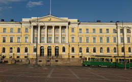 Government Palace, Helsinki Stock Photography