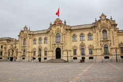 Government Palace in Lima, Peru Stock Photography