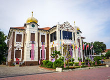 A government palace in Meleka, Malaysia Stock Photography
