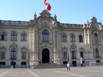 The Government Palace of Peru Royalty Free Stock Photos