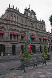 Government palace in Puebla Stock Photo