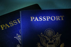 Government passports Royalty Free Stock Photos