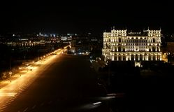 Government`s House on Freedom square. Baku, Azerbaijan Royalty Free Stock Photography
