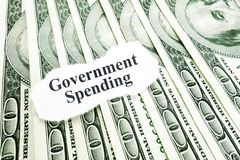 Government spending Stock Image