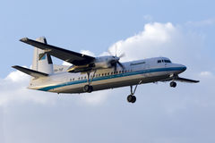 Government of Tanzania Fokker 50 Stock Photo