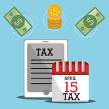 Government taxes payment  Stock Photography