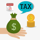 Government taxes payment  Stock Photos
