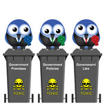 Government Waste Bins Royalty Free Stock Photos