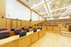 Governmental conference room. Royalty Free Stock Photography