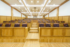 Governmental conference room. In classical style Stock Image
